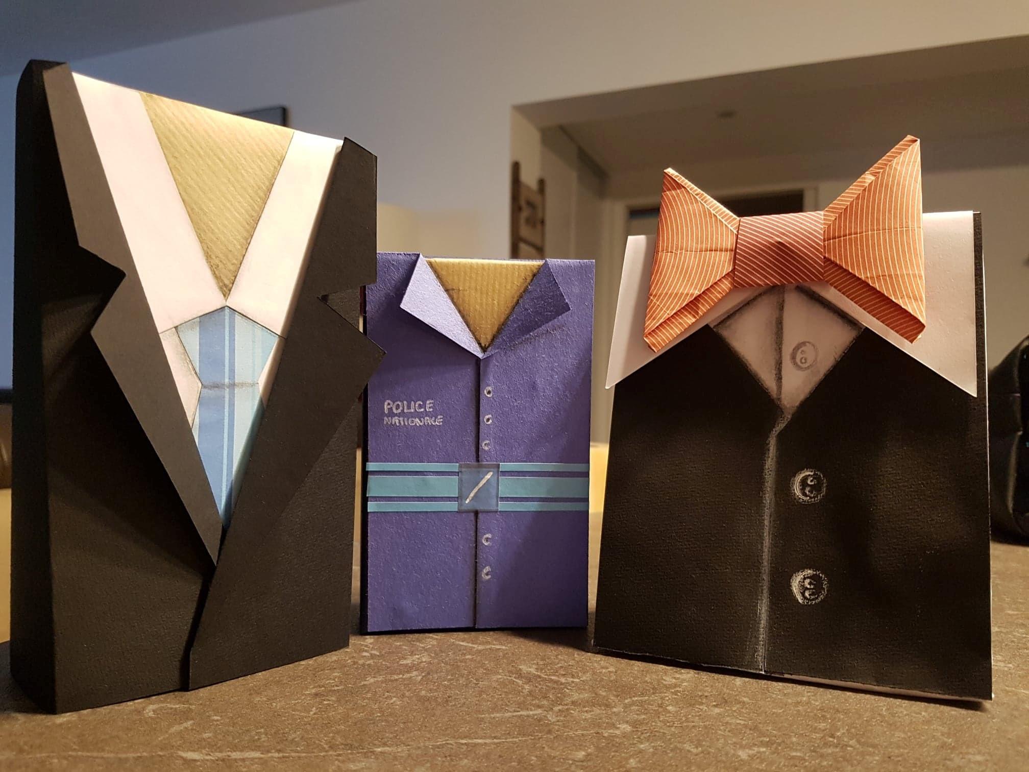 DIY fête des pères - Tutos de personnalisation de votre papier cadeau