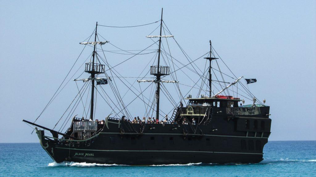 L'île des pirates