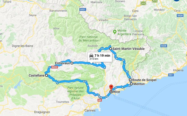 Beesharyvous a concocté un planning aux petits oignons pour 5 jours de rêves aux abords de la méditerranée niçoise
