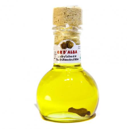 L'huile d'olive à la truffe blanche d'Alba d'Olio Donato