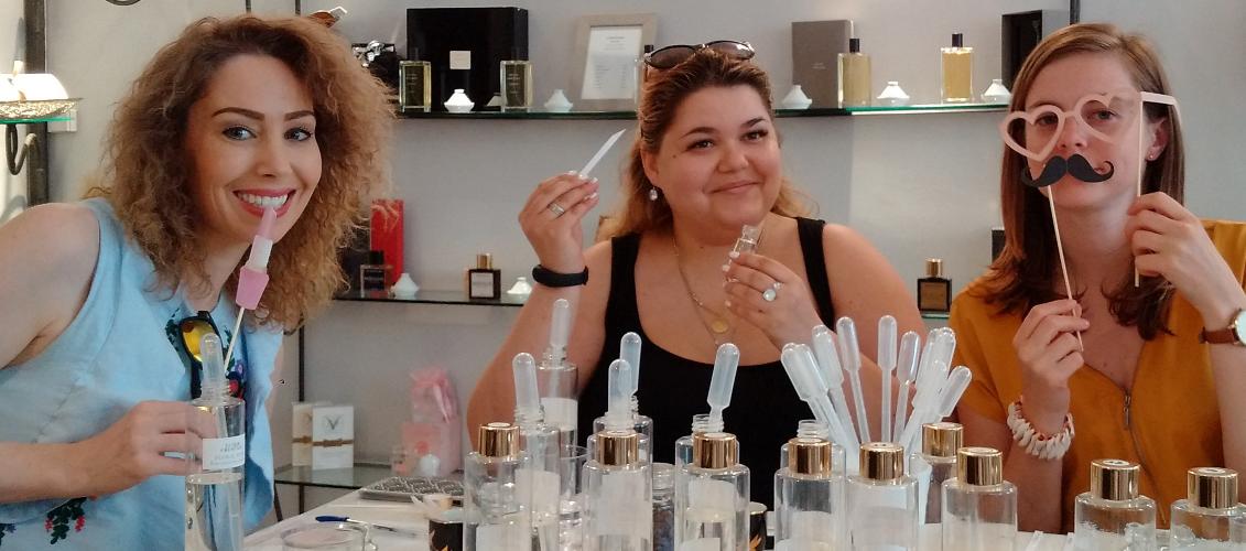 activités été artisans - creez-votre-parfum-unique