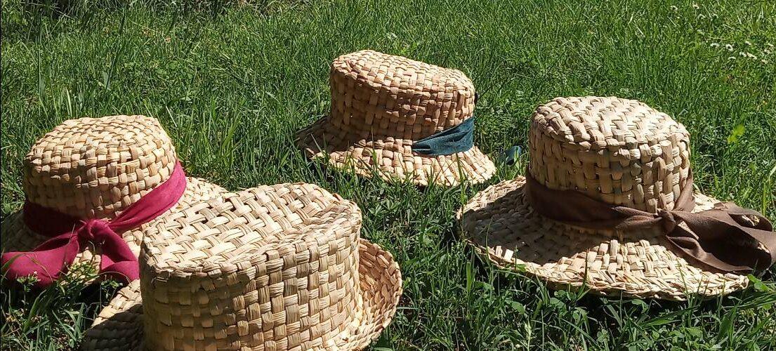 activités été artisans - tressez-votre-chapeau-en-massette